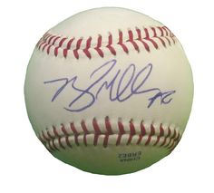 Seattle Mariners Brad Miller signed Rawlings ROLB leather baseball w/ proof photo.  Proof photo of Brad signing will be included with your purchase along with a COA issued from Southwestconnection-Memorabilia, guaranteeing the item to pass authentication services from PSA/DNA or JSA. Free USPS shipping. www.AutographedwithProof.com is your one stop for autographed collectibles from Seattle Sports teams. Check back with us often, as we are always obtaining new items.
