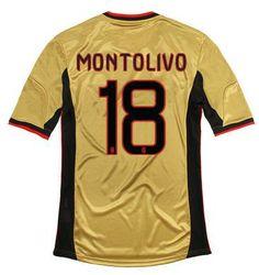 Maillot de Foot AC Milan (18 Montolivo) Third 2013 2014 jaune Pas Cher http://www.korsel.net/maillot-de-foot-ac-milan-18-montolivo-third-2013-2014-jaune-pas-cher-p-2932.html