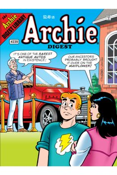 """Brand New on the Archie Comics app for Sep 26th, 2012: ARCHIE DIGEST #239    """"That Old Buggy"""": In this poignant tale, Archie's grandpa Artie comes to town to see the classic Model T Mr. Lodge is restoring. This leads to an adventurous and funny trip down memory lane!    DOWNLOAD NOW: http://digital.archiecomics.com/series_comic_details.php?product_id=com.iversecomics.archie.comics.archie.digest.two.hundred.thirty.nine.08232012    #archiecomics #iverse #digitalcomics #archie #digest #comics"""