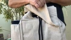 Will keep your backpack closed even if it's full of books. And they will not demagnetize your credit cards in the bag. We tested this for you. #magnetbag #bagwithorganization #drawstringbackpack #hempbag #summerbackpack Weekend Hiking, Day Hike, Living In Europe, Living In La, Men's Backpack, Jansport Backpack, Beige Backpacks, Hiking Gear, Credit Cards