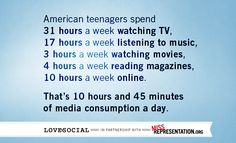 And most of them are watching Jersey Shore or Twilight. Food for thought... #MissRep