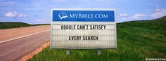 Google Can't Satisfy Every Search. - Facebook Cover Photo