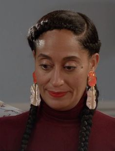 Hot TV Moms: Rainbow Johnson (from Black-ish) – Conversations we could've had… Simply Hairstyles, Feed In Braids Hairstyles, No Heat Hairstyles, Celebrity Hairstyles, Natural Hairstyles, Braided Hairstyles, 2 Feed In Braids, Box Braids, Simple Braids