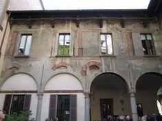 Palazzo Fontana Silvestri, Milan, Italy; end of XIV c.
