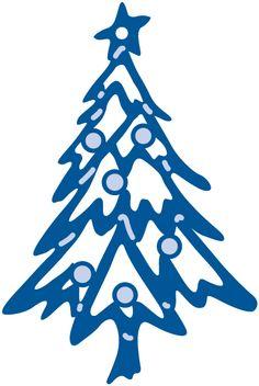 Marianne Design - Creatable Dies - Creatables Die Christmas Tree 1