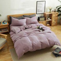 Purple bedding ideas are a popular color decor esp for a girl bedding like purple comforter sets, purple duvet cover, purple bedspreads & purple bed sheets.