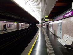 my ubahn stop in vienna! Corporate Identity Design, Urban Analysis, U Bahn, Vienna, Scene, Architecture, Building, Places, U2