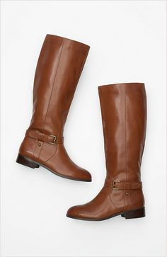 Classic leather riding boots