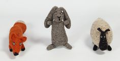 Claire-Anne O'Brien's Knit Creatures - Hand-sewn wool animals inspired by Ireland's rugged coastline