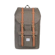 513bcc36be Herschel Supply Co. Little America Rugzak - Canteen Crosshatch   Tan  Synthetic Leather