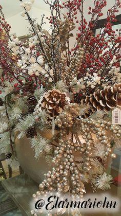 Christmas Deco, Christmas Trees, Christmas Holidays, Christmas Crafts, Christmas Ornaments, Ideas Navideñas, Christmas Centerpieces, Tablescapes, Decoration