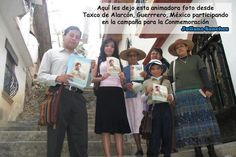 Our brothers in Guerrero, MX sharing in the distribution of the invitations to the Memorial ♥
