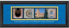 University of California - Los Angeles Campus Letter Art @uclatoday #ucla