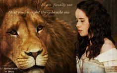 Susan & Aslan (Narnia) <3