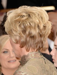 Pics of Emma Thompson Short Wavy Cut Emma Thompson Hair - View of BackEmma Thompson Hair - View of Back Short Hair With Layers, Short Wavy, Layered Hair, Short Hair Cuts, Emma Thompson, Celebrity Hairstyles, Trendy Hairstyles, Long Hair Tips, Hair Creations