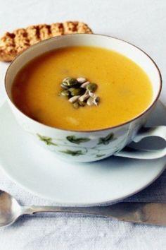 Dýňová sezona: polévka s kokosovým mlékem