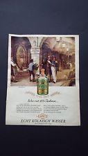 4711 / 1792 - 1967  Wie vor 175 Jahren... - Werbung 1967