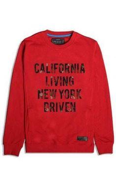 065e8ed0ae4 Entree LS California Living New York Driven Womens Crewneck Sweatshirt  Entrees