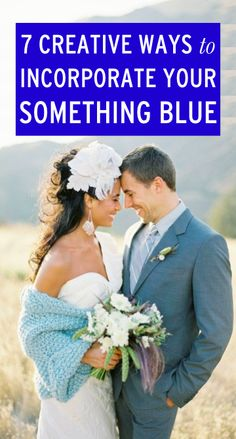 Creative ways to incorporate your something blue on your wedding day