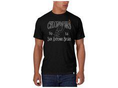 San Antonio Spurs 47 Brand Black 47 Brand NBA 2014 Champ Scrum T-Shirt | Lids.com
