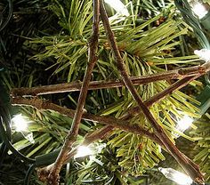 Great blog, with fun ideas for the kiddos! Twig stars.. Thinking star garland with white lights would be fun.