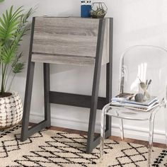 Ivy Bronx Corinna Transitional Leaning/Ladder Desk, office decor, interior design, decor, home sale