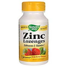 Natures Way Zinc Lozenges Echinacea & Vitamin C Wild Berry Flavor 60 Lozenges Home Remedies For Flu, Flu Remedies, Natural Home Remedies, Zinc Supplements, Amino Acid Supplements, Best Zinc Supplement, Vegan Friendly, Vitamin E, Naturaleza
