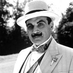 David Suchet as Hercule Poirot. The Agatha magic. Played to perfection.