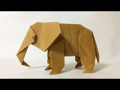 me - Learn Paper Folding, Free Origami Instructions & More! How To Make Origami, Useful Origami, Paper Crafts Origami, Diy Origami, Origami Instructions, Origami Tutorial, Origami Elephant, Origami Videos, Operation Christmas Child