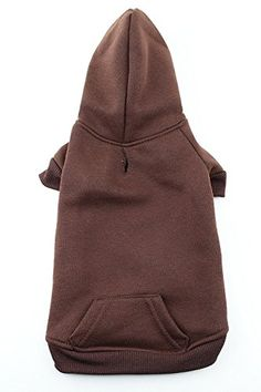 Available in sizes x-small to xxx-large Warm fleece hooded sweatshirt with pocket Hole for collar's d-ring