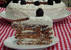 Потрясающе вкусный торт!! Тающие во рту коржи из безе и грецких орехов, всего 2 ложки муки и много взбитых сливок!! Этот торт обязательно нужно попробовать!!  Ингредиенты для «Итальянский торт «Грецкий орешек»»: Коржи Белок яичный — 10 шт Сахар — 400 г Орехи грецкие — 300 г Сок лимонный — 1 ст. л. Крахмал картофельный …