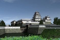 丹波亀山城 Japanese Castle, Palaces, Big Ben, Castles, Building, Travel, Military, Viajes, Palace