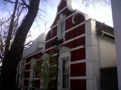 The beautiful colonial town of Stellenbosch in South Africa.