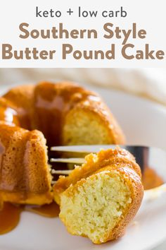 This keto pound cake is buttery just like mom used to make. A mix of almond flour and coconut flour giving this the classic pound cake texture you are use to. Yet, keeping it keto friendly without any sugar or a icing on top to avoid the cooling effect. Keto Friendly Desserts, Low Carb Desserts, Low Carb Recipes, Dessert Recipes, Flour Recipes, Cupcake Recipes, Atkins Recipes, Health Desserts, Recipes Dinner
