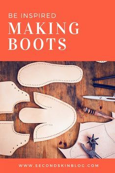Be inspired to start making your own footwear, click through to read my blog post!