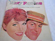 MARY POPPINS Julie ANDREWS1960s Walt Disney music by JewlsinBloom, $5.00