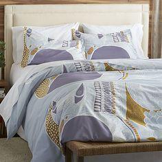 Marimekko Nappakettu Duvet Covers and Pillow Shams | Crate and Barrel