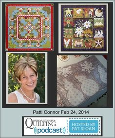 Pat Sloan American Patchwork and Quilting radio Patti Connor Feb guest