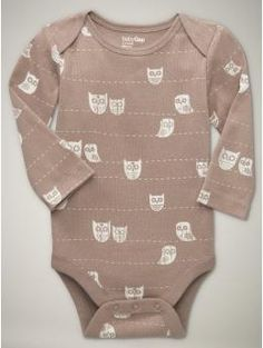 I am loving baby gap's bodysuits