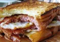 Spam Recipes, Potato Recipes, Pork Recipes, Sandwich Recipes, Breakfast Bowls, Breakfast Recipes, Spam Meat, Fried Spam, Kochen