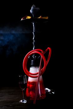 Stylish Oriental Shisha With Fruits On A Black Background. Hookah Smoke, Hookah Pipes, Images Of Chocolate, Cigarette Aesthetic, Glass Pipes And Bongs, Smoke Wallpaper, Hookah Lounge, Profile Picture For Girls, Bad Girl Aesthetic