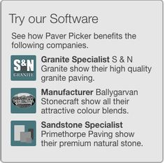 You can try our software on our website. There are three examples linked. #paving #pavers #naturalstone #walling #tiles #garden #hardscape #landscaping