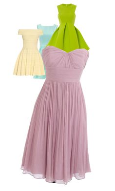 """Colors of spring"" by dylanloveselephants123 on Polyvore featuring Kate Spade, Alexander McQueen and J.Crew"