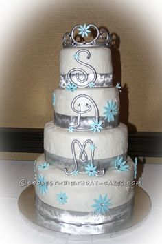 Cool Sweet 16 Cake... This website is the Pinterest of birthday cake ideas