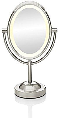 Amazon Com Conair Double Sided Lighted Makeup Mirror Lighted