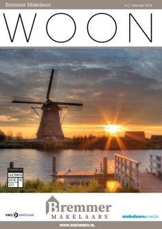 Het maandelijkse WOON magazine van Bremmer Makelaars: boordevol woonnieuws, aanbod en acties. (Ver)koopplannen: bel 078 - 677 27 92! https://www.yumpu.com/nl/document/view/59806709/bremmer-makelaars-woon-magazine-februari-2018