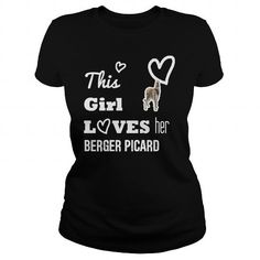 Berger Picard This girl loves her Berger Picard T-Shirts, Hoodies ==►► Click Image to Shopping NOW!