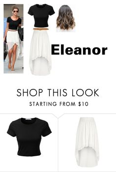 """Eleanor"" by courts-horan13 on Polyvore featuring LE3NO, River Island and rag & bone"