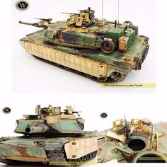 Abrams 1/35 scale By: Lester Plaskitt From: wilder  #usinadoskits #udk #abrams #miniatura #guerra #war #carrodecombate #tank #eua #usa #plastimodelismo #plastickit