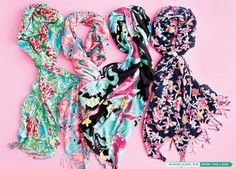 I'm dreaming of Lilly Murfee Scarf Christmas!!! #LillyHoliday